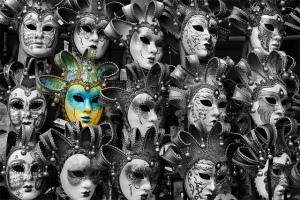 caras y máscaras